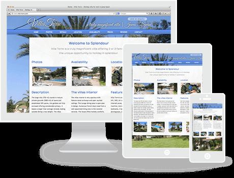 Website Villa Torre