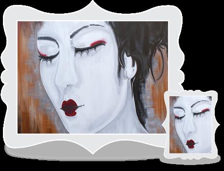 Schilderij Serenity