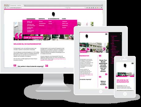 Website De Burgemeester