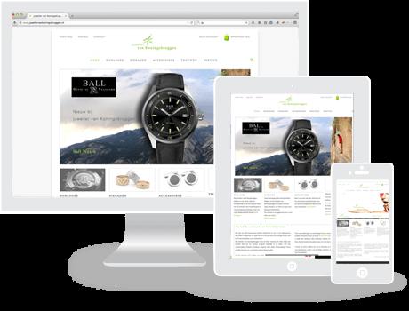 Webshop Juwelier van Koningsbruggen